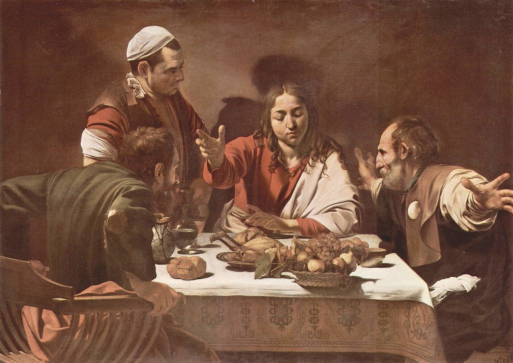 Supper at Emmaus, by Caravaggio